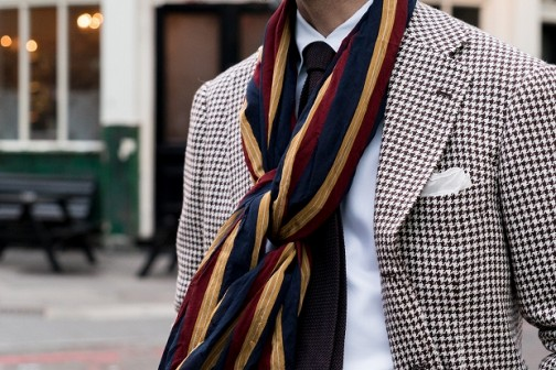 london-brown houndstooth (4 - 5)