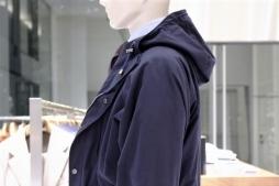 column 『服の向こう側』 vol.57 / ring jacket napoli -cashmere cotton hooded blouson